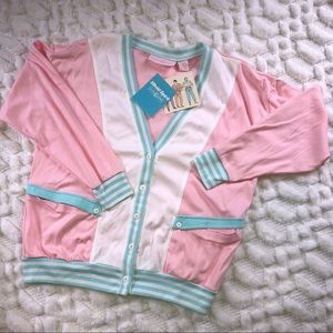 GoolaGong 1980s Cardigan with Tags